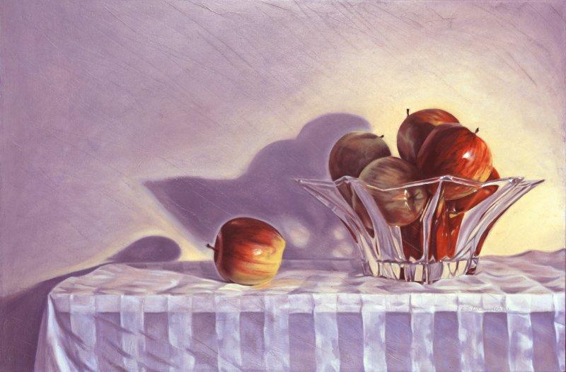 GALA'S, oil & alkyd on canvas, 24 in. H x 36 in. W, $2200.00Cdn