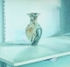 AGATE VASE, oil & alkyd on canvas, 20 in. x 20 in., NFS