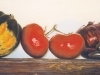 VINE RIPENED, oil & alkyd on canvas, 12 in. H x 24 in. W, $ 1300.00Cdn