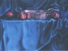JANE'S PAN, oil and alkyd on panel, 12 in. H x 18 in. W, $900.00Cdn