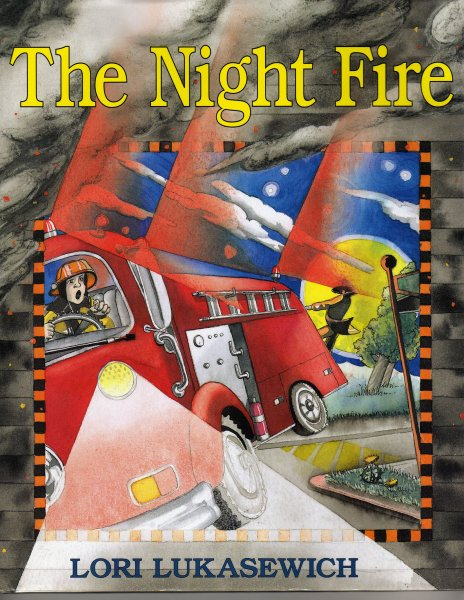 THE NIGHT FIRE. cover