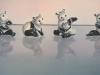 HER PANDA'S, oil & alkyd on canvas, $3300.00Cdn