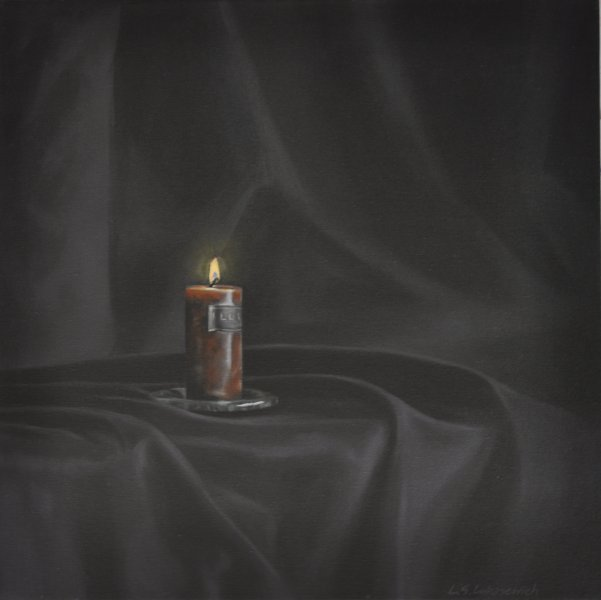 ELEGY/PRAYER, oil & alkyd on canvas 24 in. x 24 in., $1200.00Cdn