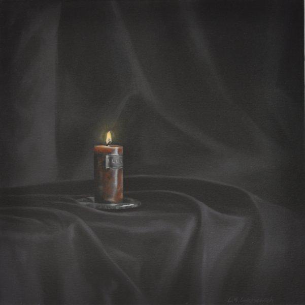 ELEGY/PRAYER, oil & alkyd on canvas 24 in. x 24 in., $1200.00Cdn
