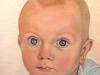 """Baby Miles, 12"""" x 9"""""""