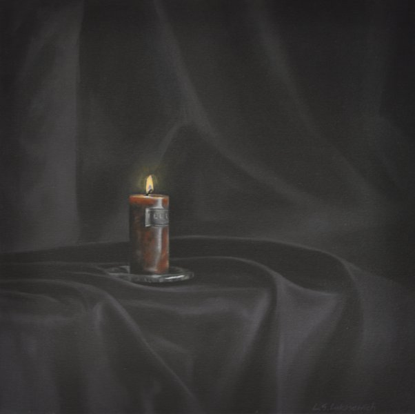 ELEGY/PRAYER, oil & alkyd on canvas, 24 in. x 24 in., $1800.00Cdn