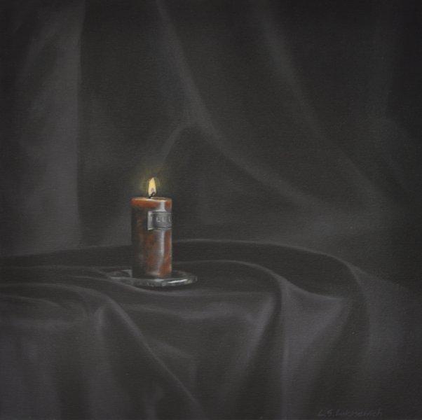 ELEGY/PRAYER, oil & alkyd on canvas, 24 in. x 24 in., $1800.00Cdn