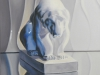 """Polar Bear, Oil & alkyd on canvas,32""""h x 16""""w$1900.00"""