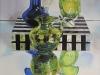"Zoya's Blue Glass, Oil & alkyd on canvas30""h x 24""w$2200.00"