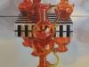 "Zoya's Red Glass, Oil & alkyd on canvas24 x 24""$1600.00 Cdn"