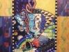 ARCHETYPE/QUEEN, watercolour on paper & acrylic on poplar, 46 5/8 in. H x37 7/8 in. W, NFS